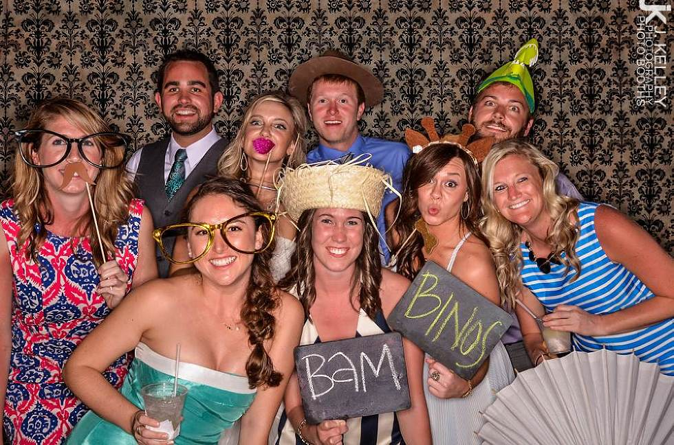 group photo, open air photo booth, Columbia, MO