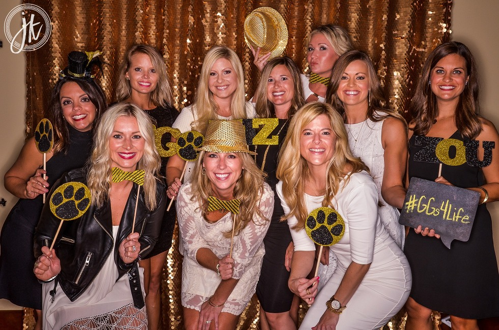 Mizzou Golden Girls Photo Booth for 50th Reunion in Columbia MO